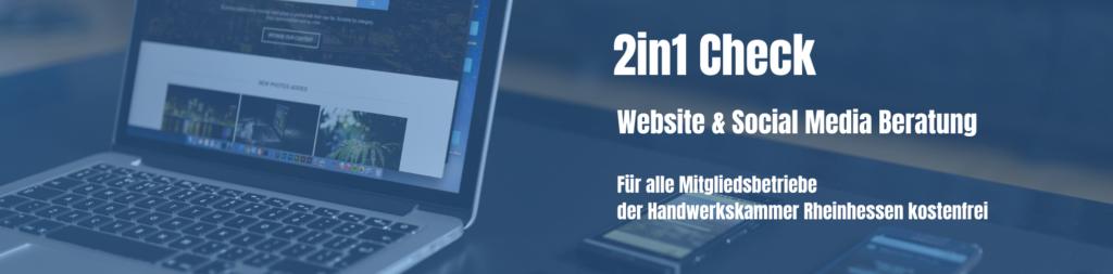 2in1-Website-Social-Media-Check