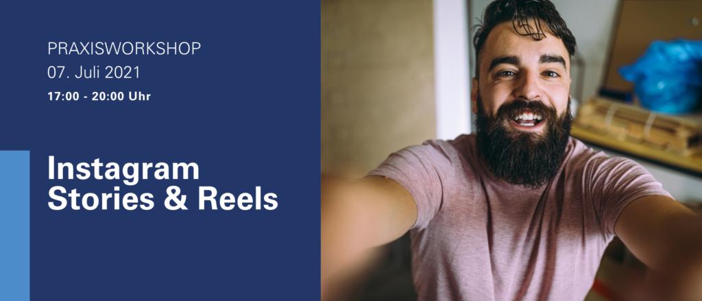 Selfie Praxisworkshop Reels Story Stories Instagram Funktionen Technik verstehen Ideen Ausprobieren Smartphonekamera Smartphone Videos Handwerker