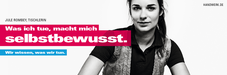 Das Handwerk Kampagnenfoto Imagekampagne